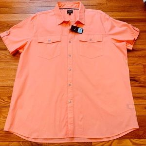 Apt. 9 Premier Flex Button Down Shirt NWT